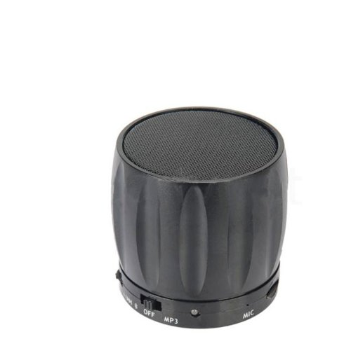 Coluub Bluetooth Speaker Card Reader Function For Mobile Phone With Bluetooth Color Black