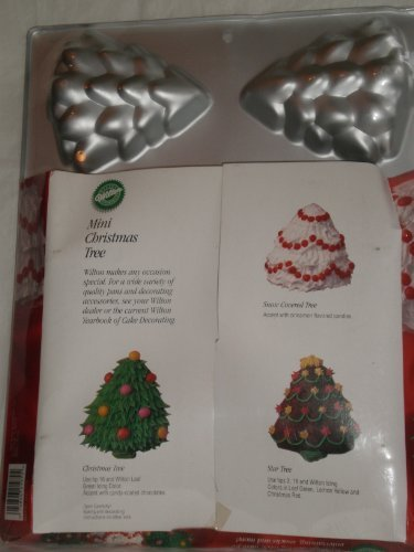Mini Christmas Tree Cake Muffin Pan 6 Molds 1.5 Deep (Tree Cake Pan compare prices)