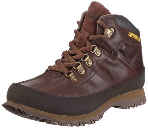 Cat Men's Restore Dark Brown Lace Up P713365 11 UK