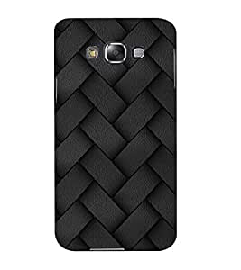 Mental Mind 3D Printed Plastic Back Cover For Samsung Galaxy E5- 3DSAME5-G719