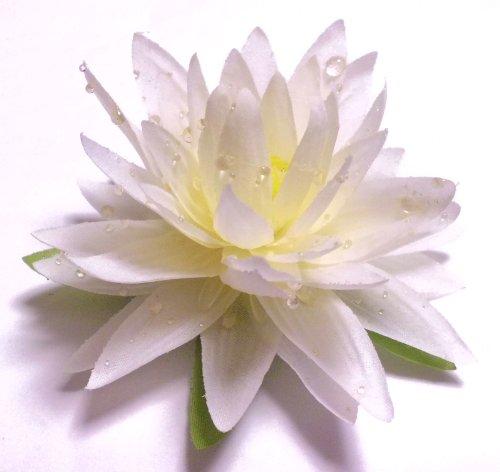 造花フローティングロータス(蓮) ホワイト
