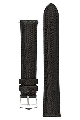 signature-dragon-in-black-20-mm-watch-band-replacement-watch-strap-genuine-leather-silver-buckle