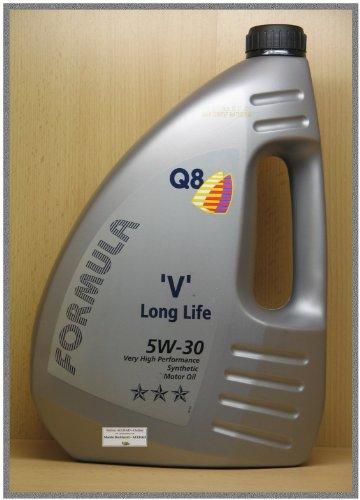 Q8 Formula V Long Life SAE 5W-30 Motoröl, 4L.