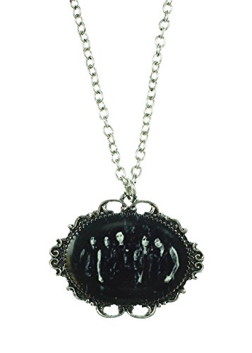[Black Veil Brides Cameo Necklace] (Black Veil Brides Fallen Angel Costume)