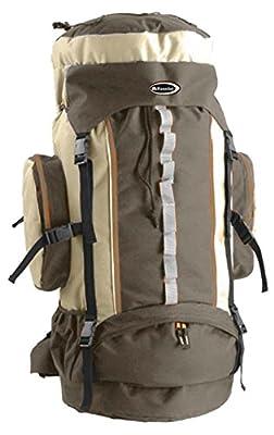 Trekkingrucksack XL Backpack 75 Liter Sport Freizeit Wandern Urlaub