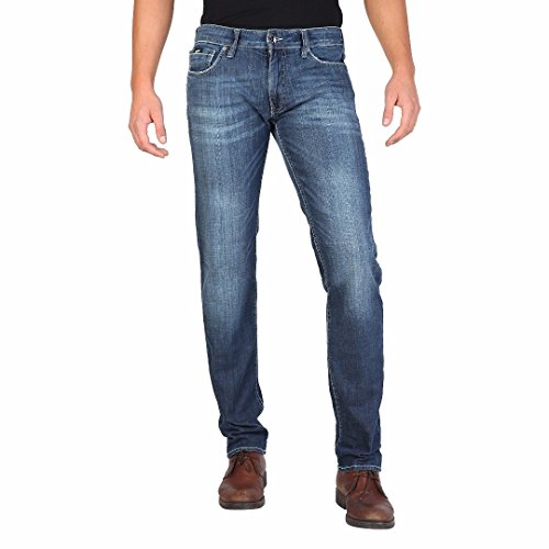 GAS MORRIS ZIP W867 jeans uomo morbido denim con leggere abrasioni