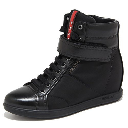 6612N sneaker PRADA SPORT nero scarpe donna shoes women [40]