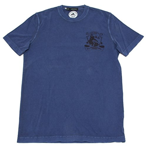 8249F maglia blu DSQUARED D2 MANICA CORTA polo uomo t-shirt men [XS]