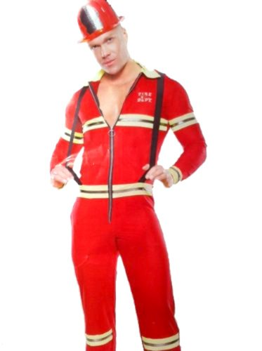 Men Sexy Fire Fighter Costume