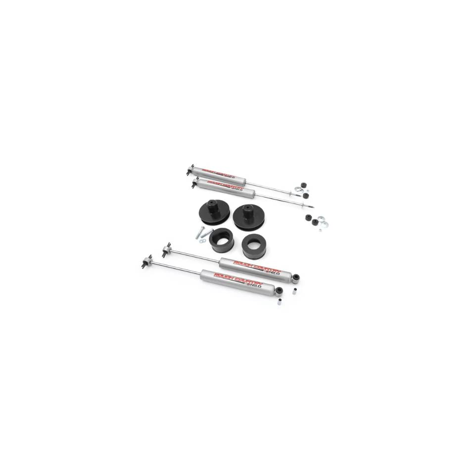 Rough Country   658N2   2 inch Suspension Lift Kit w/ Premium N2.0 Shocks