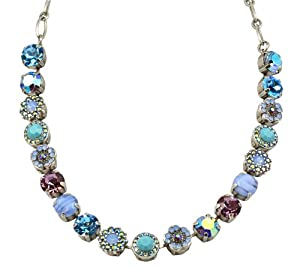 "Amazon.com: Mariana Silver Plated ""Diana"" Large Swarovski Crystal"