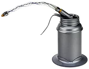 Powerbuilt 648750 Pistol Type Oil Can with Base