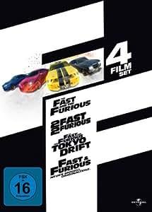 Fast & Furious (1-4 Film-Set) [4 DVDs]