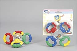 Simba Abc Multi Function Rattle, Multi Color
