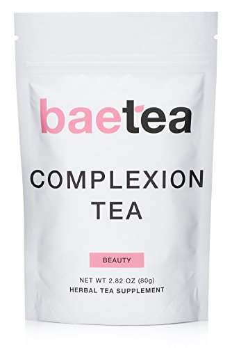 Baetea Complexion Tea: Get Healthy, Glowing, & Imperfection Free Skin, 26 Servings, with Potent Traditional Organic Herbs, Ultimate Way to Nourish & Fortify
