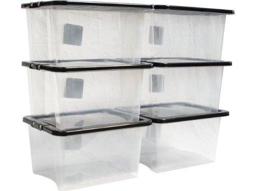 The plastic box company confezione con 5 scatole - Contenitore sottoletto ...
