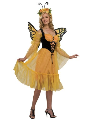 Monarch Butterfly Adult Costume Halloween Costume