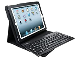 Kensington KeyFolio Pro 2 Removable Keyboard Case and Stand For iPad 4 with Retina Display New iPad (3rd Gen) and iPad 2 (K39512US)