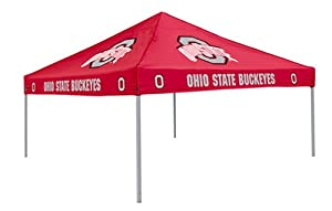 NCAA Ohio State Buckeyes 9-Foot x 9-Foot Tailgating Canopy, Red by Logo