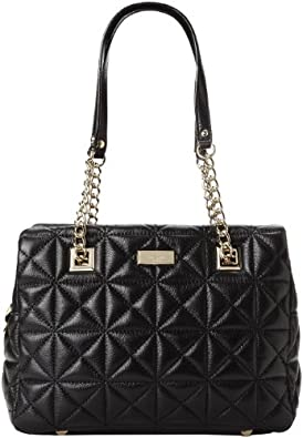 (历史最低)kate spade new york 双肩带单肩包Sedgwick Place Tilly Shoulder Bag黑$199