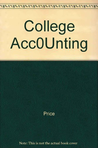 College Acc0Unting PDF
