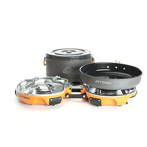Jetboil Genesis Base Camp 2 Burner System One Size (Jetboil Stove System compare prices)