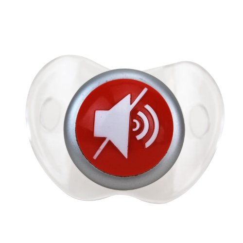 BigMouth Inc Mute Button Pacifier