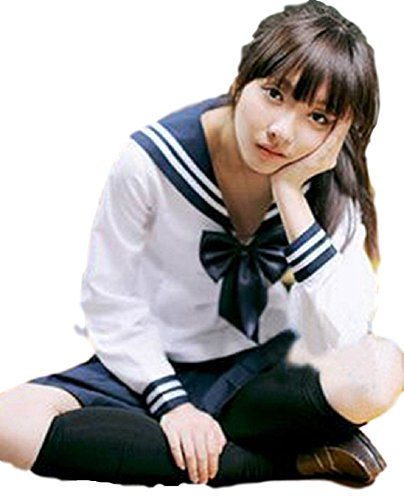 MJP J (Japanese Schoolgirl Sailor Uniform Cosplay Costume)
