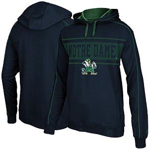 Notre Dame Fighting Irish Adidas Embroidered Logo Sweatshirt by adidas