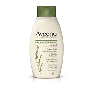Aveeno Daily Moisturizing Body Wash 12 Oz (Pack of 4)