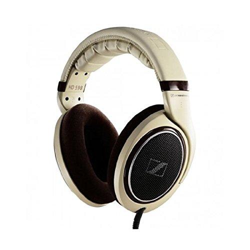 Sennheiser Hd 598 Over-Ear Headphone (Light Brown)