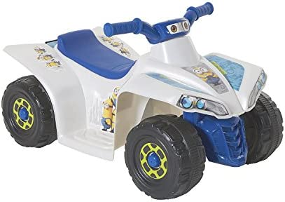 MinionsLittle Quad 6-Volt Powered Ride-On