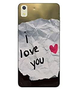 Snazzy Love Printed Soft Back Cover For LYF WATER 8