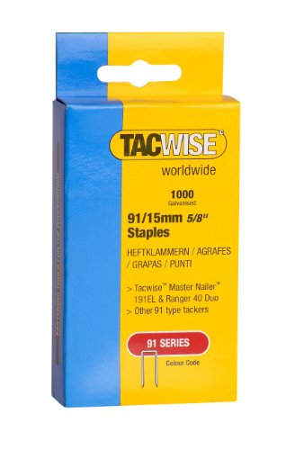 Tacwise Heavy Duty 91 Series Staple 15mm (1000)