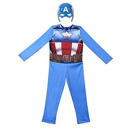 Avengers Captain America Animated Full Dress Up Costume