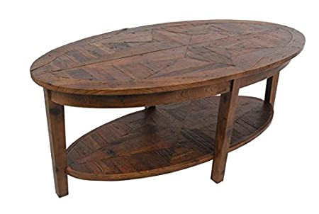 Revive - Reclaimed Oval Coffee Table - Natural