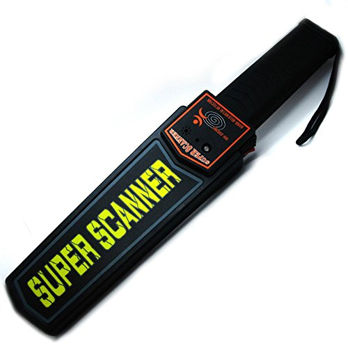 PETRICE Hand Held Metal Detector Super Scanner With Beep Vibrator High Quality