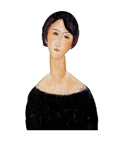 ArtopWeb Panel Decorativo Modigliani Woman In Black