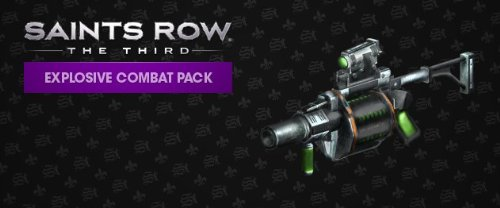 Saints Row: The Third - Explosive Commando Pack DLC [Online Game Code]