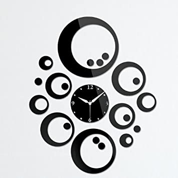 Amazon.com - Toprate(TM) Modern Stylish Rounds Wall Clock Fashion ...