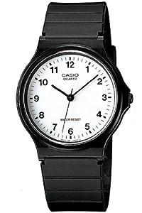 CASIO MQ-24CC-4BEF - Reloj de caballero de cuarzo, correa de resina