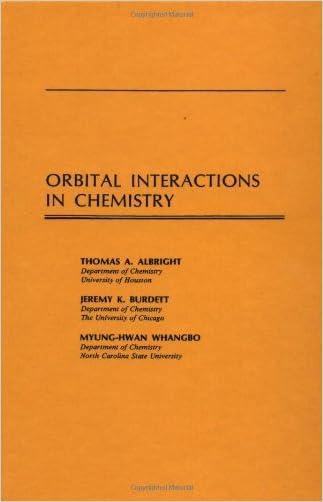 Orbital Interactions in Chemistry