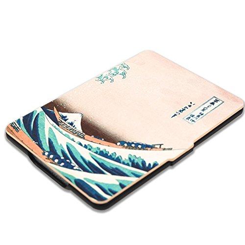 Kindle Paperwhite Book Cover Art : Kandouren case cover for kindle paperwhite great wave