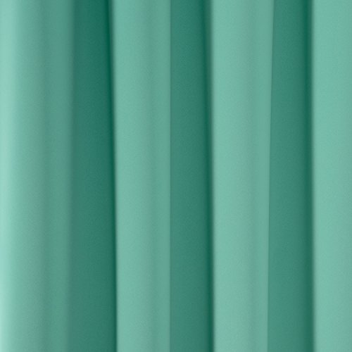 Amazlinen Toxic Free 52 W X 63 L Inch Grommet Top Blackout Curtains For Kids Thermal Insulated