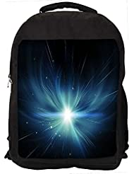 """Snoogg Abstract Stars Design Casual Laptop Backpak Fits All 15 - 15.6"""" Inch Laptops"""