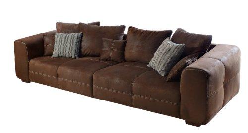 Cavadore 503 Big Sofa Mavericco, 294 x 92 x 108 cm, antik chocco thumbnail