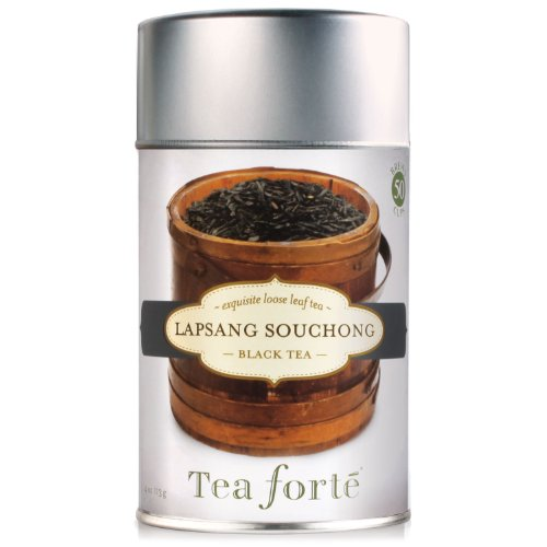 Tea Forte Loose Leaf Tea Canister-Lapsang Souchong