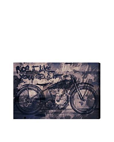 Oliver Gal Hatcher & Ethan 'Ride It' Canvas Art