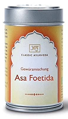 Classic Ayurveda - Asaföetida, gemahlen - Gewürzmischung in Aromaschutzdose, 1er Pack (1 x 70g) von Amla Natur GmbH auf Gewürze Shop