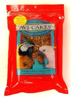 Avi-Cakes Gourmet Bird Food for Macaws and Cockatoos